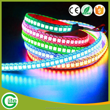 wholesale Digital 5V addressable 144 led pixel rgb strip ws2812 led tape light