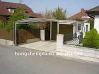 Portable and environmental mobile carport