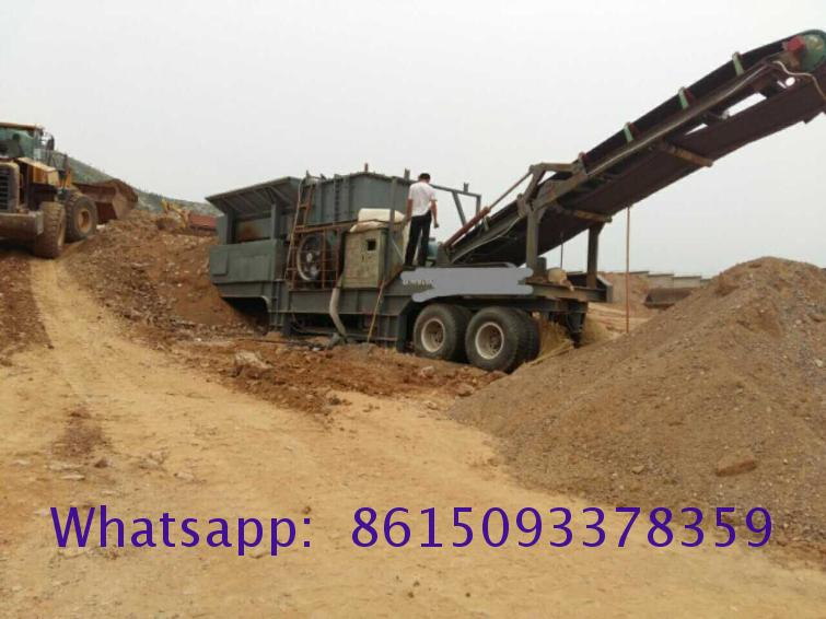 Factory Price double mobile jaw crusher for sale Manufacturer