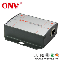 Passive POE injector 48Vdc 10/100/1000Mbps Gigabit Ethernet power supply for POE ethernet switch