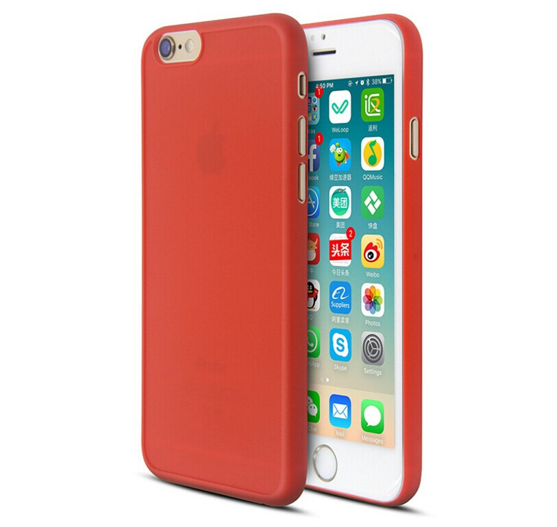 Pre-order new matte coating cell phone scratch resistance case cover for Iphone8 8p