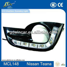 100% Waterproof Super White DRL Body Kit From Makie LED Car Daytime Running Lights For Nissane Teana 2013