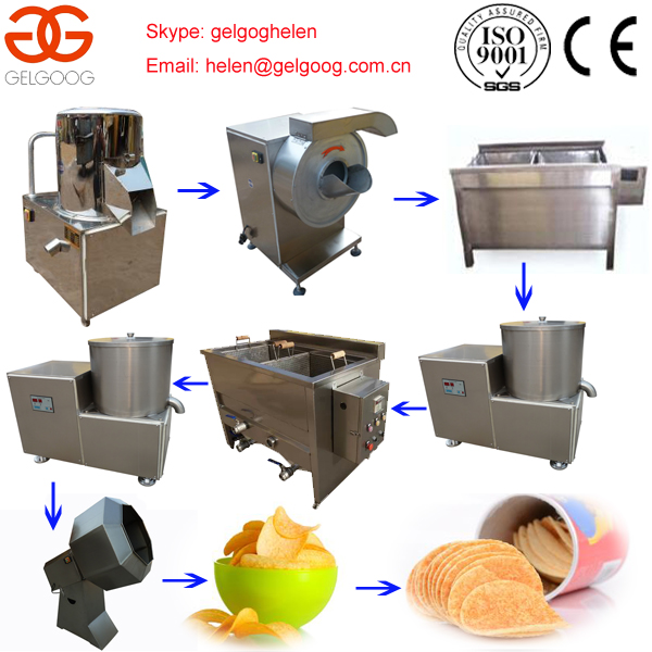 High Quality Promotion Price Complex Lays Potato Chips Production Line