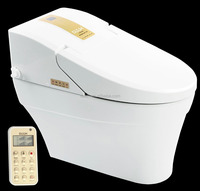 High quality colored automatic ceramic electronic smart toilets bidet