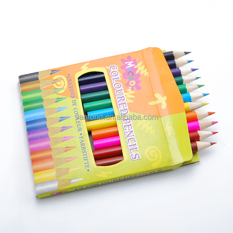 3.5inch Standard Size Round Shape High Quality Water Color Pencil for Drawing