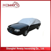 China gold supplier discount outdoor cover padded car cover hail