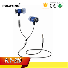 Earphone cheap earpiece with best price tpe cable china Shenzhen customized earphone for OEM