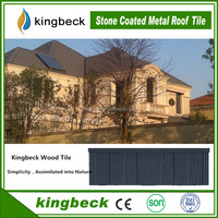 Kingbeck Tile New Colorful Stone Coated Metal Roofing Tiles