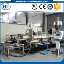 pp pe granules making co-rotating twin screw 65mm extruder machine