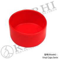 HDPE End Cap, 2.96 inch round plastic tube protective caps , 75mm I.D. Flexible Dustproof Plastic End Caps for Round Tubings