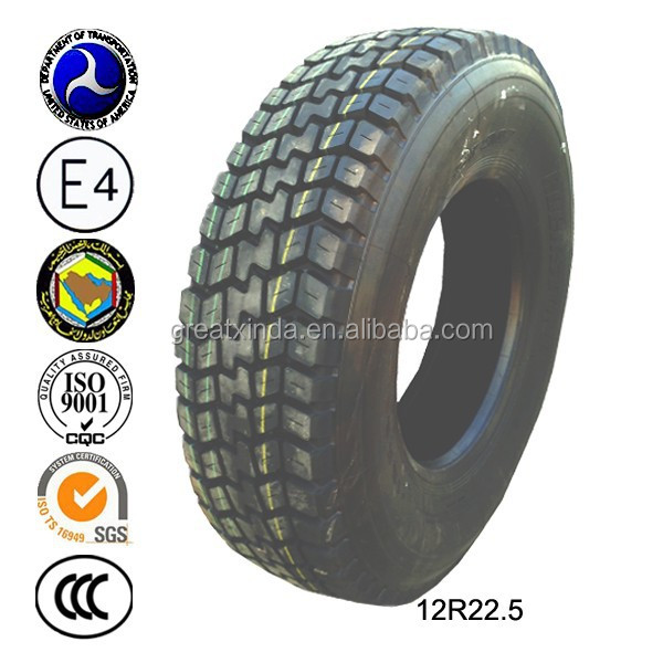 Trucks parts 10r 22.5 Radial truck tyre Made in China