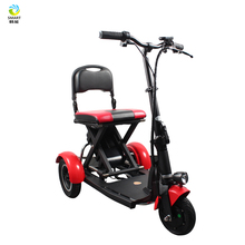 3 wheel portable folding luggage electric mobility scooter for elderly
