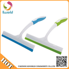 Customize logo 100% New material PP+TPR Plastic squeegee shower wiper window cleaner
