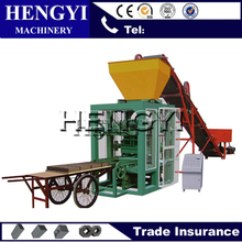 QT4-40 cheap brick making machines / concrete hollow block making machine price
