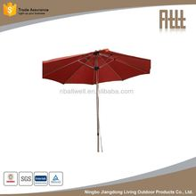 Top selling factory directly 3m alu. banana hanging outdoor umbrella parts