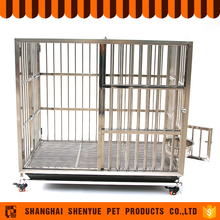 Wholesale Folding Metal Stainless Steel Dog Crate
