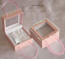 fashionable and plastic jewelry box