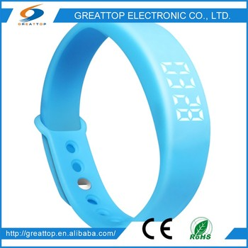 China Wholesale Market Agents smart watch wrist band sports fitness monitor tracker pedometer for smart phone