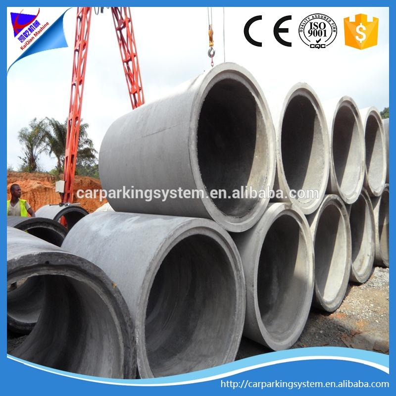 reinforced concrete pipe machine concrete spun pipe making machinery spiral tube forming machine