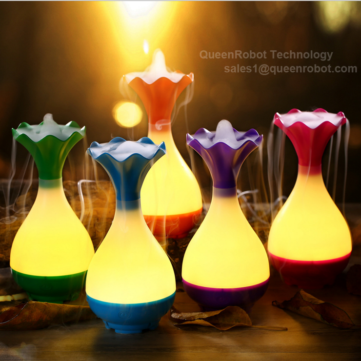 Hotel lobby aroma diffuser supplier LED humidifier diffuser essencial oil with PC diffuser