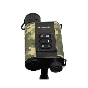 LaserWorks LRNV009 Hunting Rangefinder Infrared Night Vision Hunting Scope with Tripod Hole