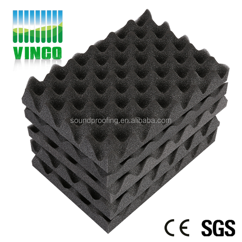 Fire Retardant Blocking Sound Absorbing Soundproof Material Studio Acoustic Egg Crate Foam