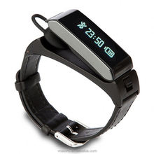 Wireless 4.0 <strong>Smart</strong> Bracelet <strong>Watch</strong> H2 K2 Headset Hand Free Vibrate alert Wristband