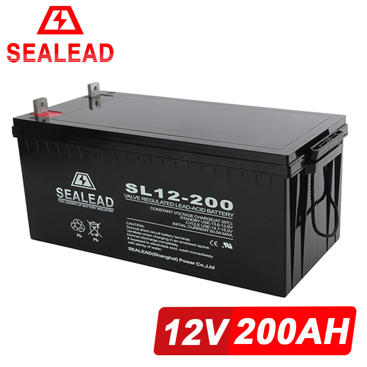 2016 alibaba big promotion China manufacturer 12v 200ah deep cycle ups battery for ups system solar energy storage battery