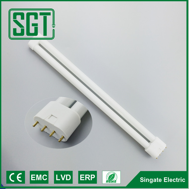 CE standard 30000 hours 2g11 led tube san an chip 18w 20w FPL