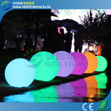 GLACS led music dancing furniture glow swimming pool /floating ball
