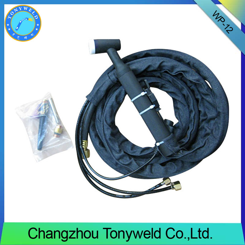 high quality tig welding wp26 argon torch gas cooled tig gun