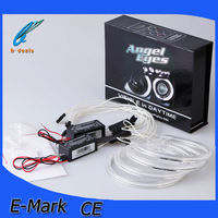 Hot !!guangdong supplier E36 E38 E39 E46 projector led lighting 12V auto parts ccfl angel eyes led car light for b-m-w