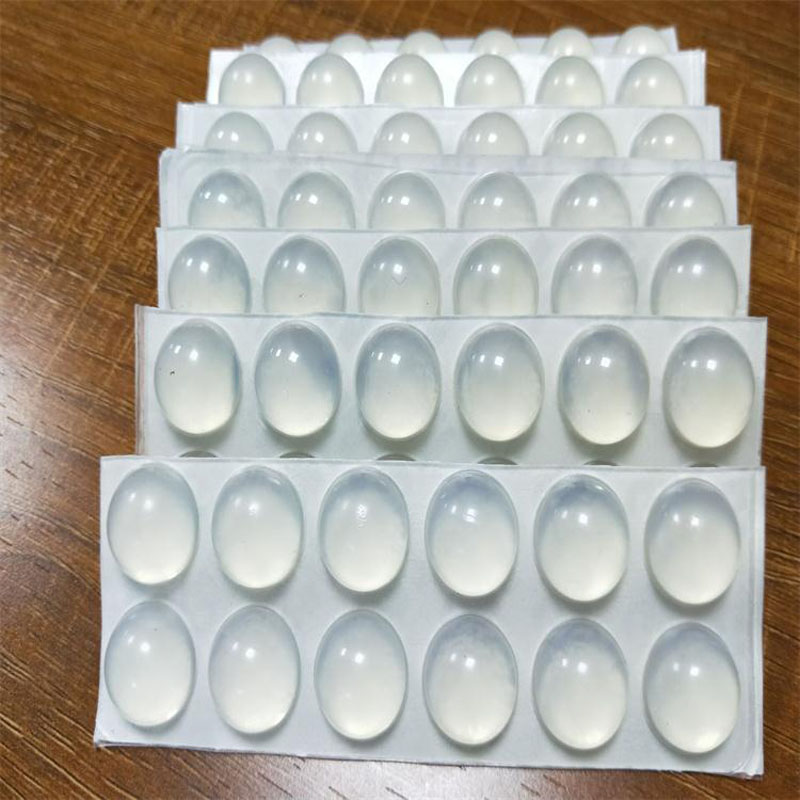OEM ODM customized silicone rubber 3m paster sticker cushion sheet
