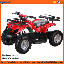 Factory outlets 800w 36v motor 12ah lead acid battery ATV for kids