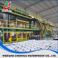 China small automatic industrial construction bitumen membrane machine manufacturer