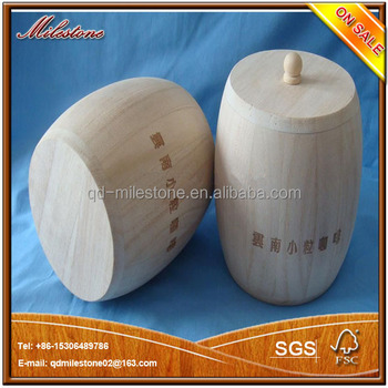 hot Small Wooden Barrel for sweets pack in oak barrel
