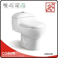 Dual Flush Ceramic Color One Piece WC Toilet