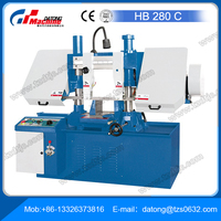Semi-Automatic Horizontal Band Saw HB 280 C for single parts and batch production of medium-sized to large workpieces