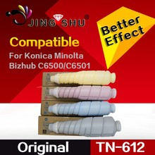 Original Toner Cartridge for Konica Minolta C5500 C6500 C6501 TN610 TN612
