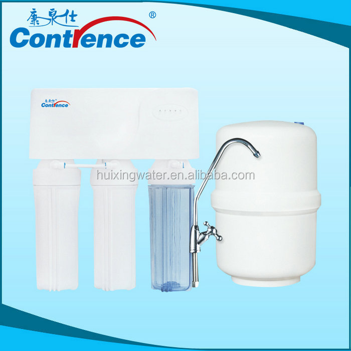 Drinking water purification plant with lower cost