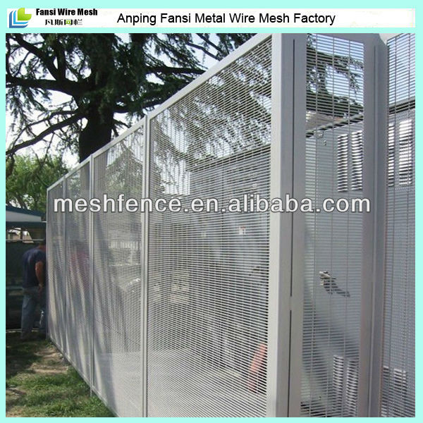 new benchmark in security barrier fencing/358 Weldmesh Fence(sales4@china-metal-fence.com)Fansi Metal Wire Mesh factory