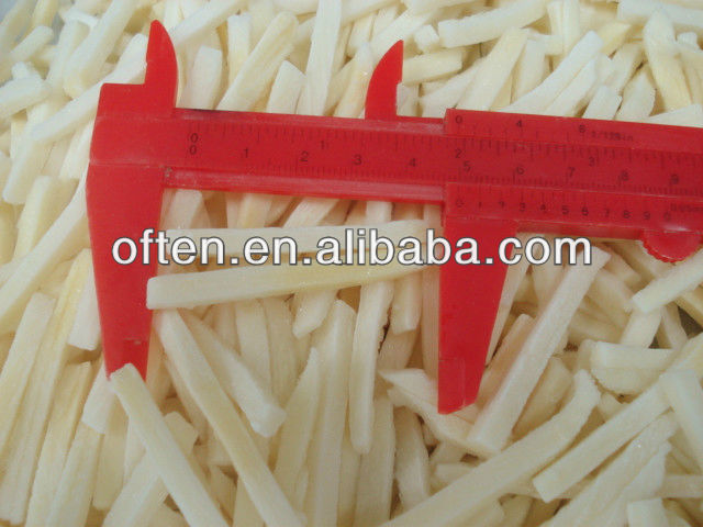 All types of frozen food iqf bamboo shoots strips