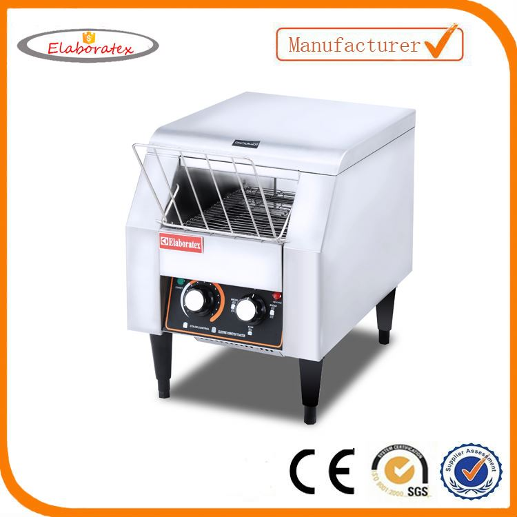 Electric commercial bread conveyor toaster with CE approved stainless steel bread toaster