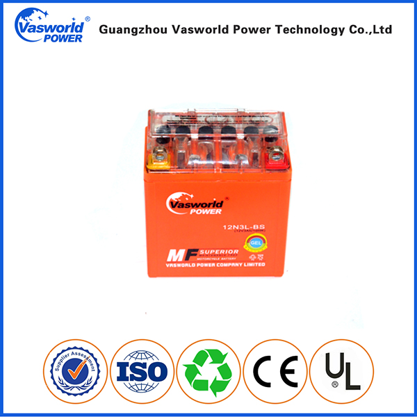 High discharge rate 20% discounts 12v 3ah long life motorcycle battery