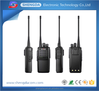 UHF VHF hand held radio 16 channels dual band talkie walkie two way radio 5-10km with high performance