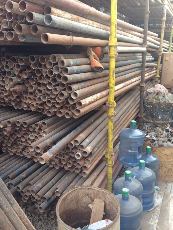 USED Brassing Pipe 6M Scaffolding