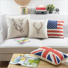 New style and luxury design 45*45cm leather sofa seat cushion covers