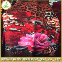 hot selling 225x450cm printed 3d fabric in india market