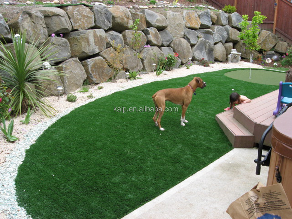 Pet dog run synthetic turf fake grass grass artificial for pet