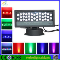 Economic factory direct ip65 led wall washer 36*3w rgb outdoor building waterproof light